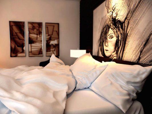 Croquis Design - Appartement - Chambre à coucher Mme Malika Alaoui