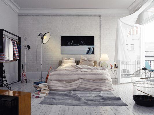 Croquis Design - Appartement - Chambre à coucher Mme Sabah