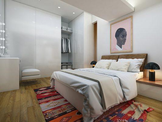 Croquis Design - Appartement - Chambre à coucher - Mme Faiza