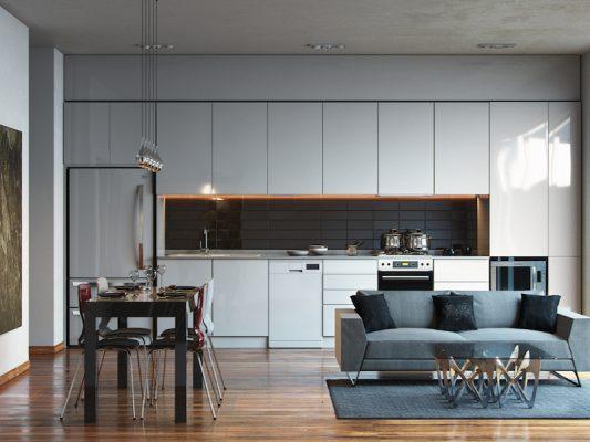 Croquis Design - Appartement - Cuisine - Mme Alicia