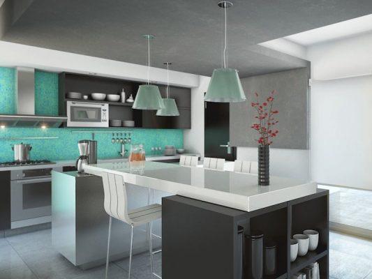 Croquis Design - Appartement - Cuisine - Mr Alami
