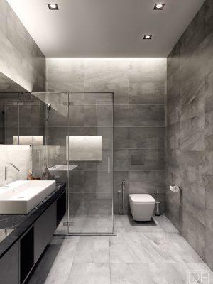 Croquis Design - Appartement - SDB - Mr Fathi