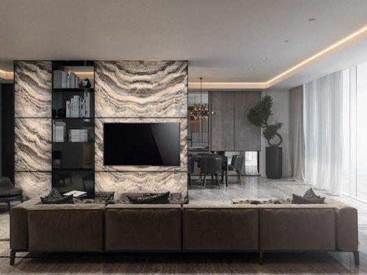 Croquis Design - Appartement - Salon - Mr Majidi