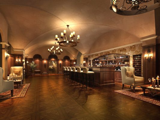 Croquis Design - Night Club - Bar Colonial - Proposition