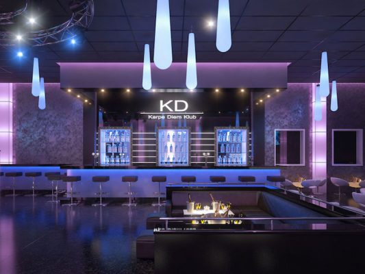 Croquis Design - Night Club - Karp Diem Tunisie - Vue1