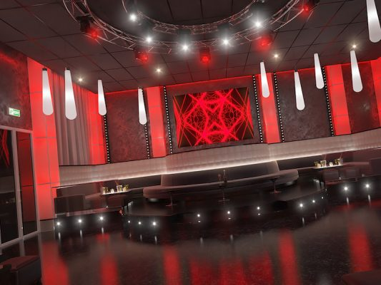 Croquis Design - Night Club - Karp Diem Tunisie - Vue2