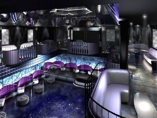 Croquis Design - Night Club - Oisis - Vue1