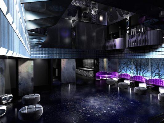 Croquis Design - Night Club - Oisis - Vue2