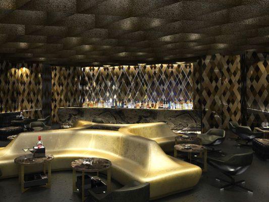 Croquis Design - Night Club - Pachanga - Vue1