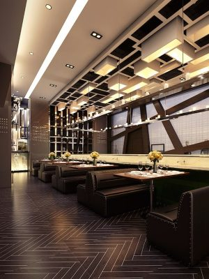 Croquis Design - Restaurant Bar - Amine - Vue2