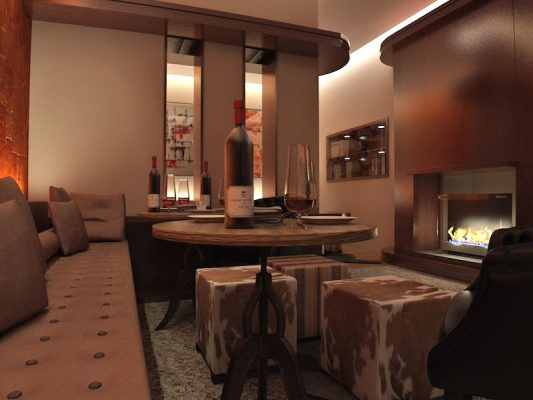 Croquis Design - Restaurant - Lounge Oscare - Vue1