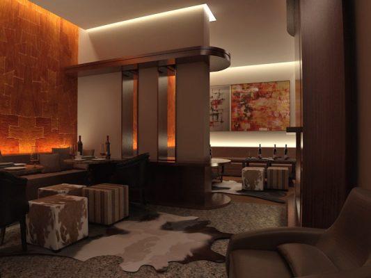 Croquis Design - Restaurant - Lounge Oscare - Vue2