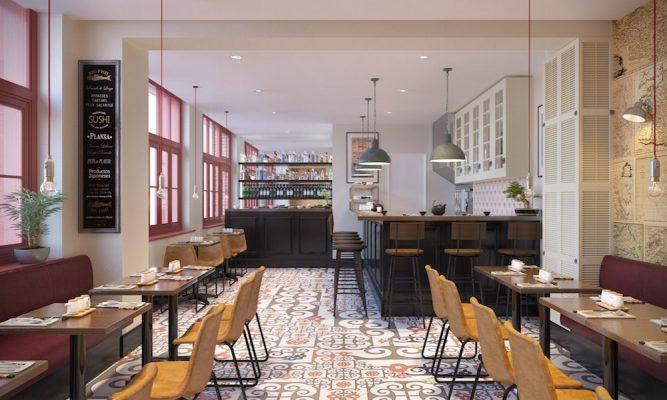 Croquis Design - Restaurant - Mr Aurélien - Vue1