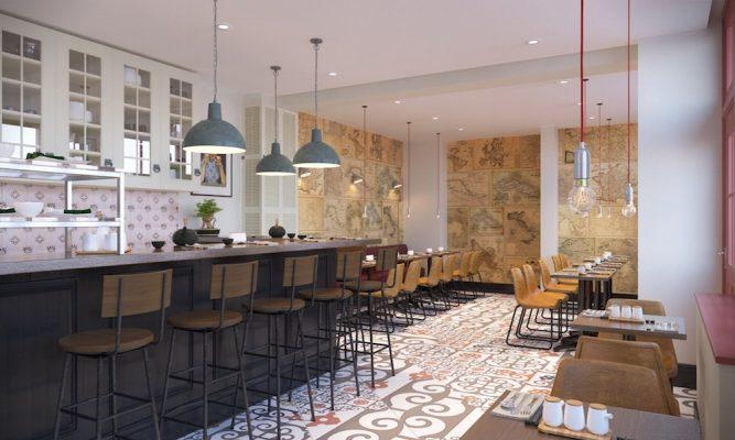 Croquis Design - Restaurant - Mr Aurélien - Vue2