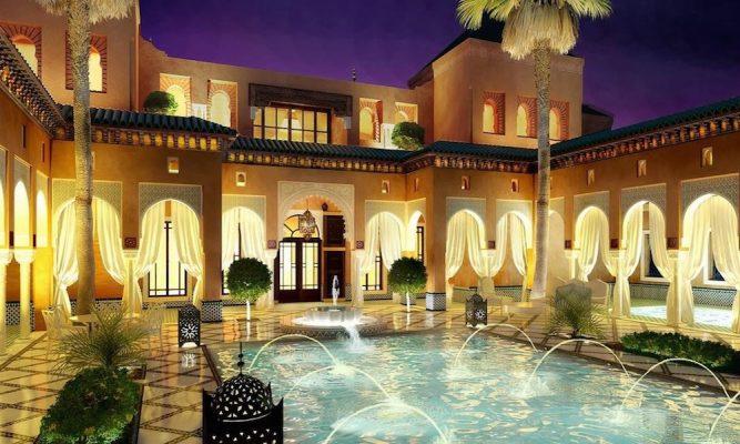 Croquis Design - Riad - Mlle Cathrine - Vue externe